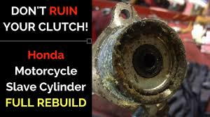 <b>Motorcycle</b> Cluch Slave Cylinder: FULL REPAIR - YouTube
