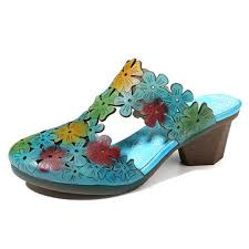 socofy women hollow out floral <b>elegant</b> slippers at Banggood