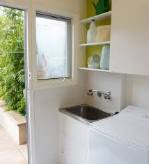 most popular tags for this image include contemporary laundry room small laundry design bright modern laundry room