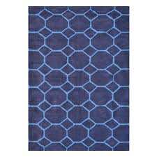 home decor plate x: honeycomb blue  ft x  ft indoor area rug