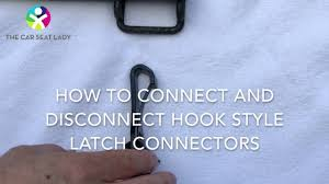 LATCH <b>hooks</b> on <b>car seats</b>: tricks to connect and disconnect them ...