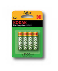 Аккумуляторная батарея <b>Kodak HR6</b>-<b>4BL 2100mAh</b> Pre-Charged ...