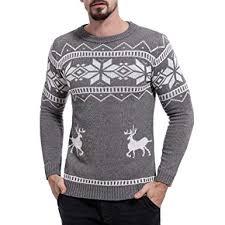 NPRADLA Men Christmas <b>Autumn</b> Winter <b>Fashion</b> Causal Print ...