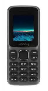 <b>Телефон мобильный Nobby 100</b> серо-черный купить недорого в ...