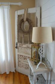 ideas china hutch decor pinterest:  ways to get farmhouse style in your home old door