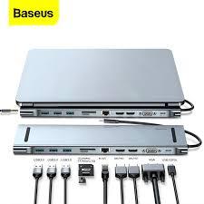 <b>Baseus USB C HUB</b> For Macbook Pro Air USB C Type C HUB to ...