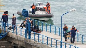 خبر العثور على جسم الطائرة الروسية المنكوبة فى اعماق البحر الأسود