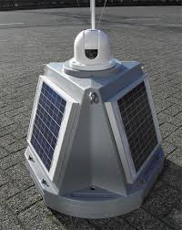Self-contained beacons | Self contained <b>solar powered LED</b> beacon ...