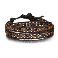 Wholesale Stone Beads Leather Bracelet - Buy Cheap Stone Beads ...