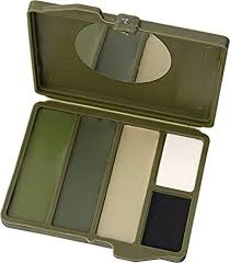 Bobbie Weiner <b>4 Color</b> Woodland Face Paint Kit, <b>Camouflage</b>