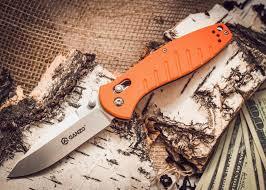 <b>Складной нож</b> Ganzo G738, оранжевый - купить по цене 1900 руб ...
