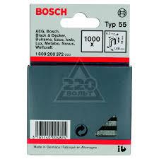 <b>Скобы для степлера Bosch</b> 1609200372 16 мм, тип 55, 1000 шт ...