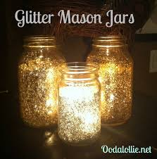 glitter mason jars beautiful and sparkly with a candle inside paint inside of jar beautiful classic mason jar