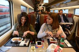 Image result for of a modern train in Italy