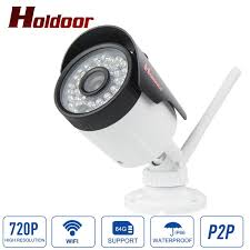 outdoor waterproof wifi multi purpose ip camera 2 mega pixel with motion detection sensitivity control and 128gb sd card
