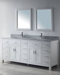 white double sink bathroom  images about white bathroom vanities on pinterest modern