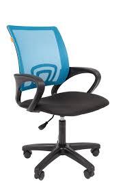 <b>Офисное кресло Chairman 696 LT</b> Россия TW голубой — купить в ...