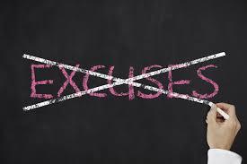 Resultat d'imatges de no excuses