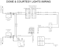 technical information dome courtesy lights wiring diagram 17kb