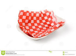 fast food paper tray stock image image  fast food paper tray