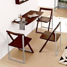 Fold Up Dining Room Tables Dining Room Modern Simple Design For Small Dining Space With