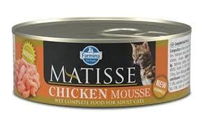 <b>Консервы Farmina Matisse</b> Cat Mousse <b>Chicken</b>, 85 г для котов