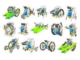 <b>Конструктор</b> CIC 21-615 Робот 14 в 1 на <b>солнечных батареях</b> ...