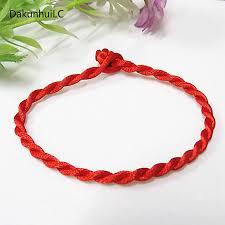 <b>Hot Sale 2019</b> 1PC <b>Fashion</b> Red Thread String Bracelet Lucky Red ...