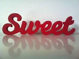 sweet are the uses of adversity essay 10cm handpainted standing wooden letters by lovelettersme