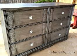 this is the touch that silver painted furniture needsblack glaze black and silver furniture