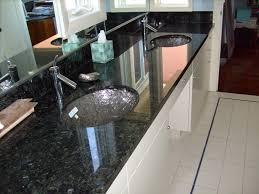 modern blue pearl granite countertops modern elegance emerald pearl bathroom counters with glass bowls