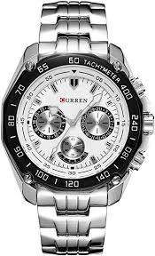 <b>Curren</b> Fashion <b>Quartz</b> Watch Men's <b>Casual</b> Waterproof <b>Military</b> ...