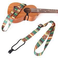 Cree Strap <b>Guitar Strap</b> Folk custom <b>Adjustable</b> Nylon Colorful Vivid ...