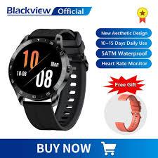 <b>Blackview</b> X1 <b>SmartWatch</b> 5ATM Waterproof Heart Rate Men ...