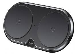 Беспроводная <b>сетевая зарядка Baseus</b> Dual Wireless Charger ...