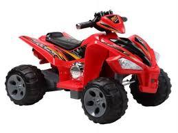 <b>Квадроцикл</b> красный 25W*2, 12V/7Ah <b>Пламенный мотор</b> 86084 ...