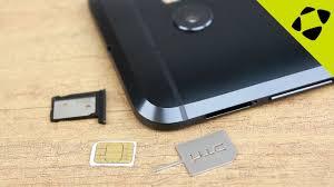 <b>HTC 10</b> How To: Insert / Remove a <b>SIM</b> Card - YouTube