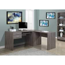 alluring gray office desk cute home remodeling ideas pictures alluring gray office desk