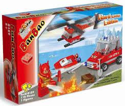 """<b>Конструктор BanBao</b> """"<b>Пожарный</b>"""", 108 деталей — купить в ..."""