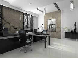 Interior Of The Modern Office 3d Rendering  Rendering Office