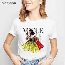 Summer <b>2019</b> Letters Queen villains bitches print <b>Vogue</b> t shirt ...