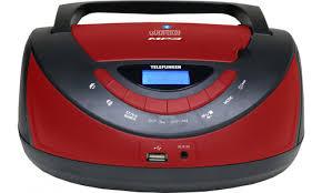 <b>Магнитола Telefunken TF</b>-<b>CSRP3497B</b> (Цвет: <b>Black</b> / Red)