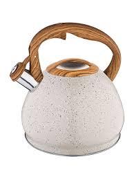 <b>Чайник со свистком 3</b> л, термоаккумулирующее дно, индукция ...