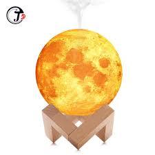 New <b>880ML Air</b> Humidifier 3D <b>Moon</b> Lamp light Diffuser Aroma ...