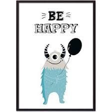 <b>Постер в рамке Дом</b> Корлеоне Монстр ''Be happy'' 40x60 см