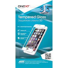 Купить <b>Защитное стекло Onext</b> для iPhone 7 Plus 3D, изогнутое ...