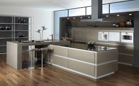 Best Wood Flooring For Kitchens Kitchen Gray And White Kitchen Table Brown Wooden Floor Modern