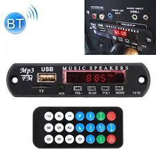 <b>Bluetooth Car</b> Kit 12V <b>MP3 Audio</b> Player Board Decoder FM Radio ...