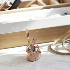 <b>Подставка для колец</b> Anigram кролик медь от Umbra (арт. 299118 ...