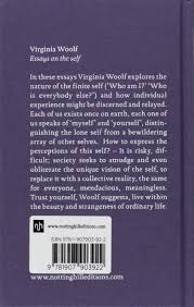 virginia woolf essays on the self classic collection amazon co virginia woolf essays on the self classic collection amazon co uk virginia woolf joanna kavenna 9781907903922 books